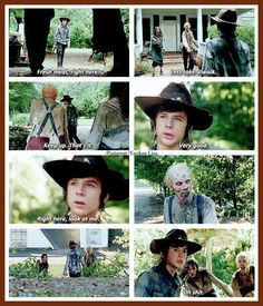 "Carl grimes of twd - 4x09 ""after"""
