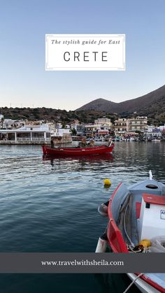 East Crete Greece - the stylish guide המדריך למזרח כרתים יוון the Domes of Elounda from domes resorts, the best beaches restaurants sea, villages, and tips you wish to find when traveling to Crete Crete Island Greece, Boat, Stylish, Resorts, Beaches, Restaurants, Traveling, Tips, Viajes