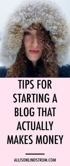 Starting a blog? I bet you're worried about actually making money online, right? Here are some of my blogging tips for getting started!