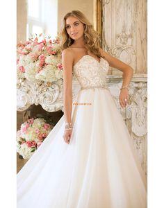 Hala Princesové Elegantní & moderní Designer Svatební šaty