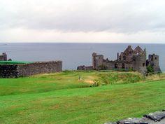 Dunluce castle. Ireland