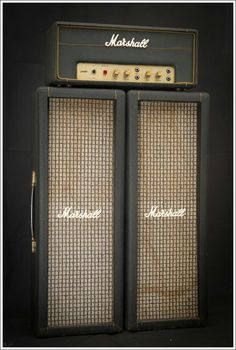 1969 Marshall PA20 1917. JMP 18 watt w/ EL 84 POWER SECTION. Two channel w/four inputs for channel jumping & Bass n' Treble tone control perfect simple British sounds..
