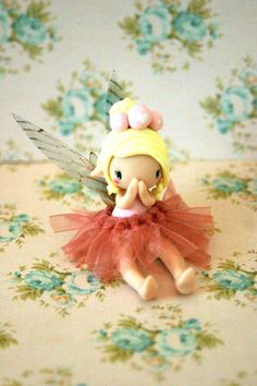 Hey, I found this really awesome Etsy listing at https://www.etsy.com/listing/249089628/fairy-figurine-wearing-a-tutu