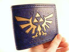 Triforce Wallet by Sova Leatherworks