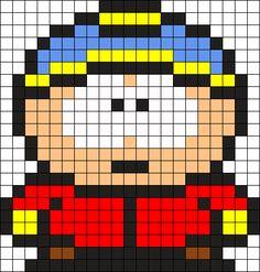 Eric South Park Perler Bead Pattern / Bead Sprite