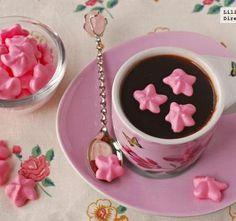 Dulces bocaditos de azúcar para San Valentín.
