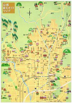 京都をマップを使ってわかりやすくご紹介!観光プランも立てやすい! - Find Travel