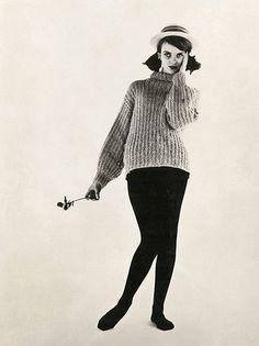 Grace's first model card, 1959     (Grace Coddington, creative director of US Vogue)