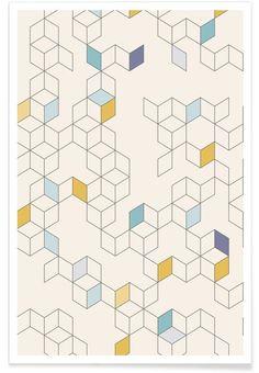 Keziah (Day) als Premium Poster von Florent Bodart | JUNIQE