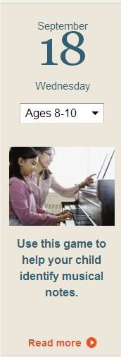 Create a set of flash cards to help your child learn music notes. Click for details.