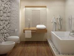Salle de bain déco nature