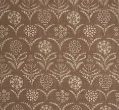Paradeiza in Coco from Lisa Fine Textiles #fabric #linen #brown