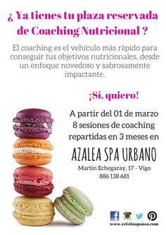 Coaching Nutricional en Vigo. ¿Te apetece?