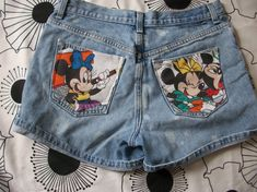 Vintage Disney Mickey Minnie Mouse Acid Wash by CANDYPANTSclothing, $25.00