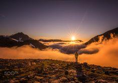 Above the fog - in Molladalen