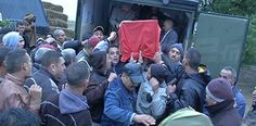 جثمان الشهيد علاء العامري يوارى الثرى | البرقية التونسية