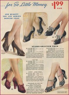 Chicago Mail Order 1940/40 | New Vintage Lady