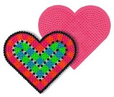 Large Heart Pegboard for Perler Fuse Beads by Dimentions. $3.89. Fuse beads together with a household iron. Ages 5 and up. Designed for use with Perler Beads. Pegboards can be reused. Great for older kids too. These Pegboards in assorted colors are designed for use with Perler Beads. Simply place beads on the Pegboard, cover with Ironing Paper, then fuse beads together with a household iron. Once beads are fused together, Pegboards can be reused. Ages 5 and up