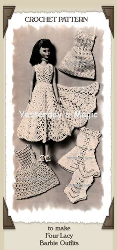 Instant Download PDF Sixties CROCHET PATTERN to by YesterdaysMagic