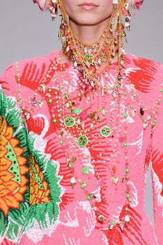 I'm in Awe of the Color Here, Manish Arora, Fall 2014.