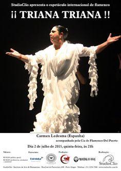 El Cajón Flamenco: Carmen Ledesma e Cia fde Flamenco Del Puerto no St...