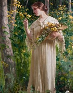 Carl Zewy (1855-1929) was an Austrian genre, portrait and landscape painter. He born in Vienna and studied at the Vienna Academy under August Eisenmenger and at the Munich Academy as well. The art dealer Friedrich Schwarz became a patron of his art and provide him with numerous commissions.