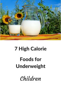High Calorie Foods For Picky Eaters
