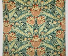 Silver Studio, UK - Decorative fabric (1900)