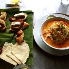 The Best Malaysian Island for Foodies and Beach Lovers -- at Malaysia's Nam Restaurant.