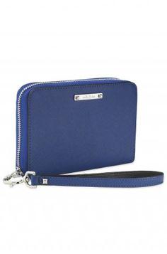 Cobalt Blue Chelsea Tech Wallet - Stella & Dot