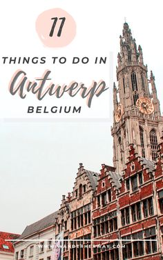 Antwerp is a fun and interesting city and the perfect place to visit for a weekend trip. Here are the top 11 things to do in Antwerp! Europe Travel Outfits, Europe Travel Tips, Stuff To Do, Things To Do, Antwerp Belgium, Scotland Castles, Travel Oklahoma, New York Travel, Travel Photography