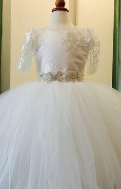 Tul y encaje   Vestidos de niñas   Vestidos del desfile   Vestidos de niño mayores   Las niñas vestidos formales para bodas
