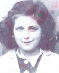 Nadin Schatz age 12 was a student in Boulogne, France then sadly murdered in the gas chamber during her arrival to Auschwitz in 1942.