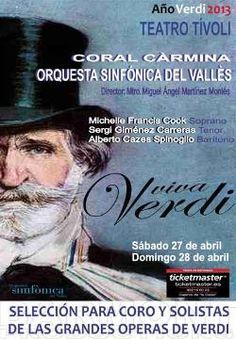 Concerts amb motiu de l'Any Verdi 2013