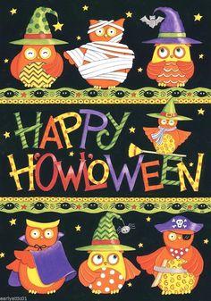 Fairy Halloween Costumes, Halloween Owl, Halloween Quilts, Theme Halloween, Halloween Pictures, Happy Halloween, Halloween Decorations, Halloween Greetings, Halloween Clipart