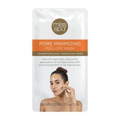 Pore Minimizing Peel-Off Mask | MissSpa $3.00 #UnclogPores