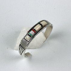 Raymond C. Yazzie Sterling silver bracelet