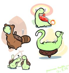 Sheldon the Tiny Dinosaur - so adorable I can't help but awwwww. Cute Comics, Funny Comics, Turtle Dinosaur, Dinosaur Pics, Sheldon The Tiny Dinosaur, 4 Panel Life, Book Art, Tiny Turtle, Fandoms