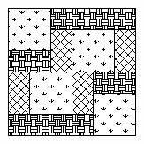 Free Patience quilt block pattern