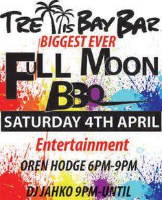 Tonight APRIL 4TH FROM 6PM | FULL MOON BBQ @ TRELLIS BAY MARKET #BeefIsland #BVI