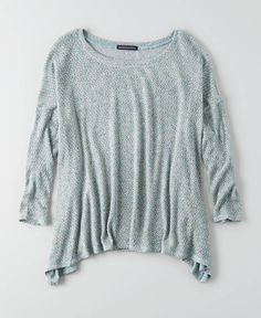 American Eagle Feather Light Pullover Sweater, Women's, Turquoise
