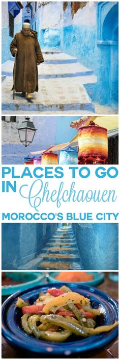 Places to go and things to do in Chefchaouen, Morocco's blue city. Discover upcoming Chefchaouen, an otherworldly idyll, and as far removed from bustling Marrakech as you can imagine. Here's the best things to see and do in Chefchaouen, Morocco.
