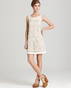Quotation: KAS New York Dress - Tulip Appliqué Shift | Bloomingdale's