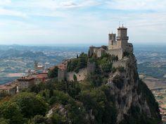Guaita Fortress, San Marino, (Republic inside Italy)