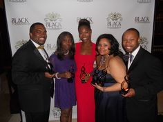 The Cupcake Critic with other honorees at The Black Street Awards (NY) 9/17