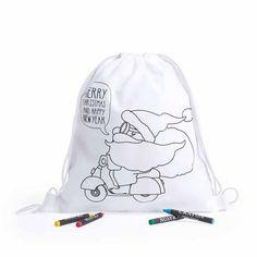 Incluye packs de Ceras individuales por cada mochila Non wave Packs de 15 Mochilas de Animales Mundo para Colorear
