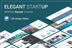 Startup Keynote Presentation Template is a Flexible, clean, simple, and unique Keynote Template. All elements easy to edit and you can easily change the color to match it with your personal or company brand, Save your time with 7 Premade templates.