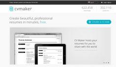 Crea un Currículum Vitae elegante con CV Maker | A tu alcance