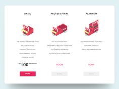 Hello Guys, I just finished pricing page for ecommerce in Indonesia, see on attachments which one you like. BIG Thanks, Fernando Price Page, Top Searches, Pricing Table, Ui Elements, User Interface Design, Budgeting, Web Design, C2c, Ui Ux
