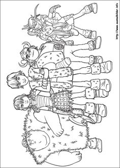 Printable Coloring Page of How to Train Your Dragon Picture 11 ...